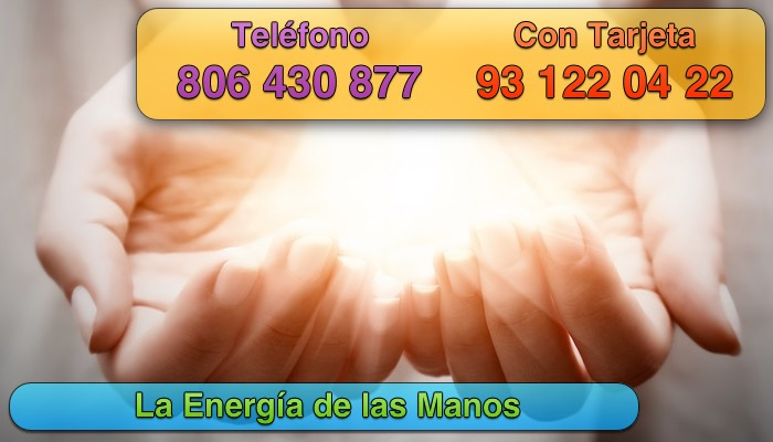 la energia de las manos